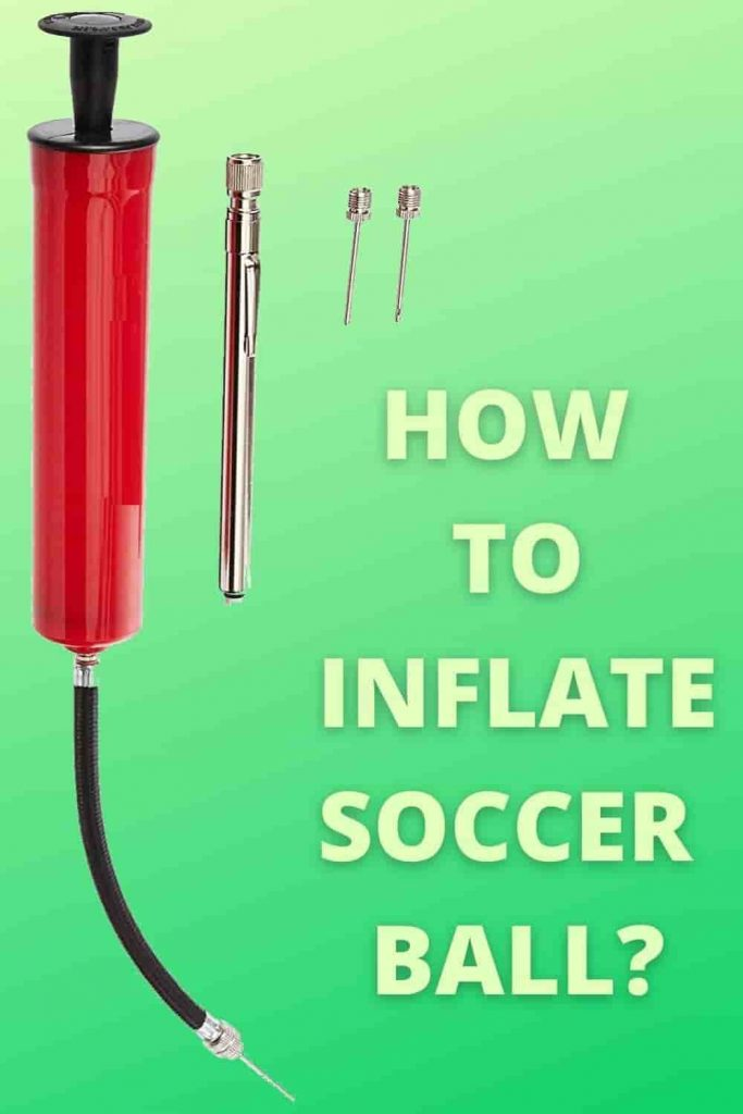 inflate soccer ball